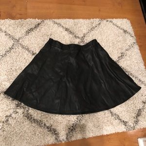 Abercrombie Faux Leather Skirt